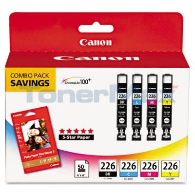 CANON PIXMA IX6520 INK BLACK/COLOR COMBO PACK